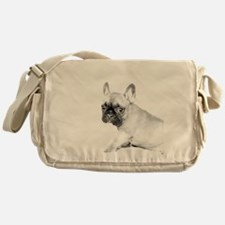 French Bulldog puppy Messenger Bag