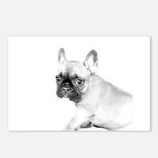 French Bulldog puppy Postcards (Package of 8)