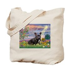 Cloud Angel & French Bulldog  Tote Bag