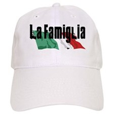 La Famiglia/Italian Flag Baseball Cap