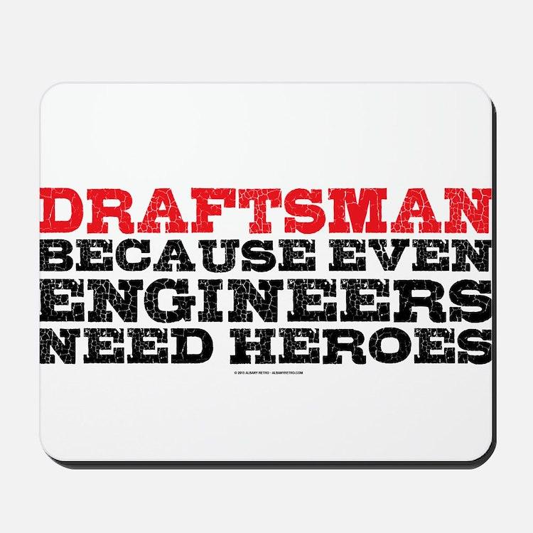 Draftsman Heroes Mousepad