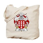 Alberas Family Crest Tote Bag