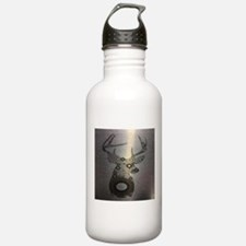 abstract camo pattern Water Bottle