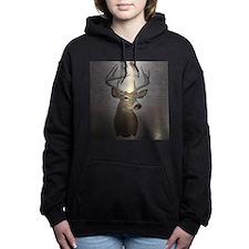 grunge texture western d Women's Hooded Sweatshirt