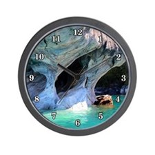 MARBLE CAVES 2 Wall Clock