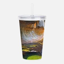 LEFT FORK CREEK 1 Acrylic Double-wall Tumbler
