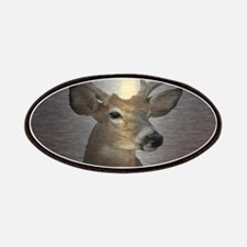 grunge texture western deer Patch