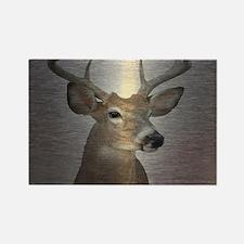 grunge texture western deer Magnets
