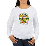 Albeniz Family Crest Women's Long Sleeve T-Shirt