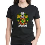 Albeniz Family Crest Women's Dark T-Shirt