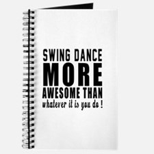 Swing more awesome designs Journal