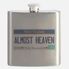 West Virginia - Almost Heaven Flask