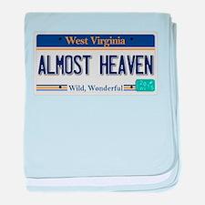 West Virginia - Almost Heaven baby blanket