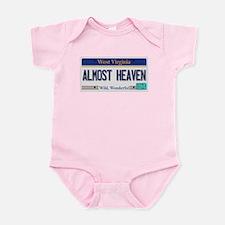 West Virginia - Almost Heaven Infant Bodysuit