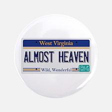 West Virginia - Almost Heaven Button