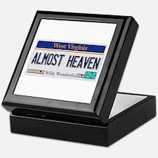 West Virginia - Almost Heaven Keepsake Box
