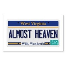 West Virginia - Almost Heaven Decal