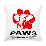 Paws Logo - Everyday Pillow