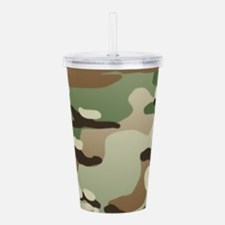 U.S. Army New Camoufla Acrylic Double-wall Tumbler