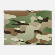 U.S. Army New Camouflage Pattern 5'x7'Area Rug