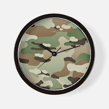 U.S. Army New Camouflage Pattern Wall Clock