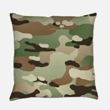 U.S. Army New Camouflage Pattern Everyday Pillow