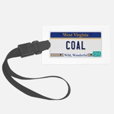 West Virginia - Coal Luggage Tag
