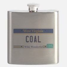 West Virginia - Coal Flask