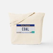 West Virginia - Coal Tote Bag
