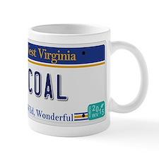 West Virginia - Coal Small Mug
