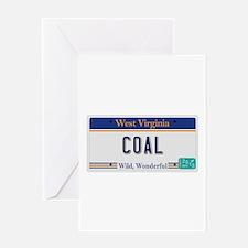 West Virginia - Coal Greeting Card