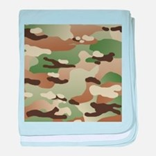 U.S. Army New Camouflage Pattern baby blanket