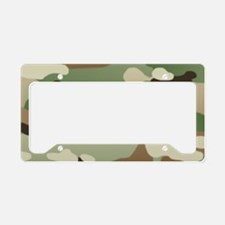 U.S. Army New Camouflage Patt License Plate Holder