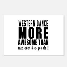 Western more awesome desi Postcards (Package of 8)