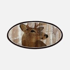 rustic western country deer Patch