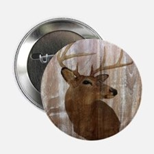 "rustic western country deer 2.25"" Button (10 pack)"