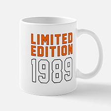 Limited Edition 1989 Mug
