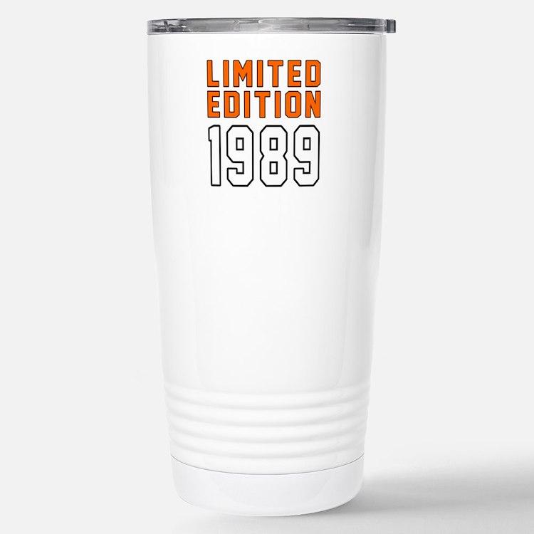 Limited Edition 1989 Travel Mug