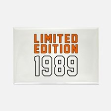 Limited Edition 1989 Rectangle Magnet