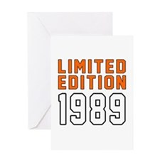 Limited Edition 1989 Greeting Card