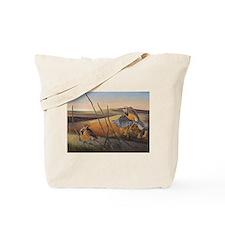 Flight of Gold Tote Bag