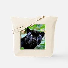 Black Panther Cat Tote Bag