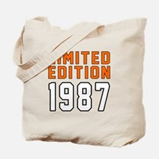 Limited Edition 1987 Tote Bag