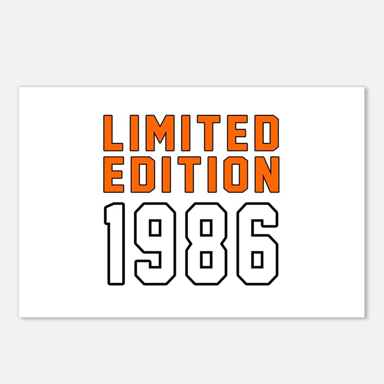 Limited Edition 1986 Postcards (Package of 8)