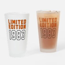 Limited Edition 1983 Drinking Glass