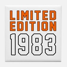 Limited Edition 1983 Tile Coaster