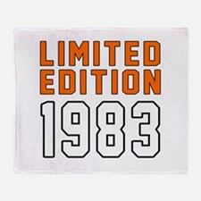 Limited Edition 1983 Throw Blanket