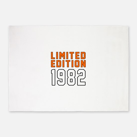 Limited Edition 1982 5'x7'Area Rug