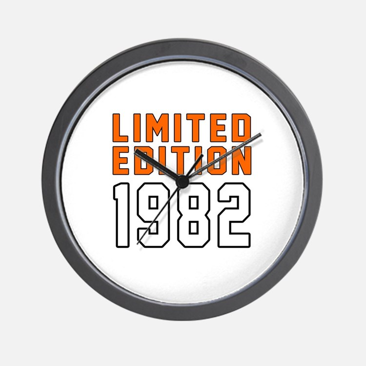 Limited Edition 1982 Wall Clock