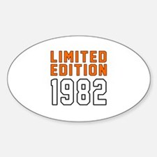 Limited Edition 1982 Decal